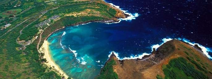 Oahu Grand Circle Island Tour, Hanauma Bay and Kualoa Ranch in Hononlulu HI