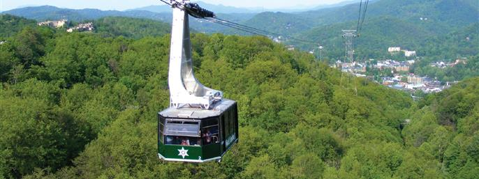 Ober Gatlinburg Aerial Tramway in Gatlinburg TN