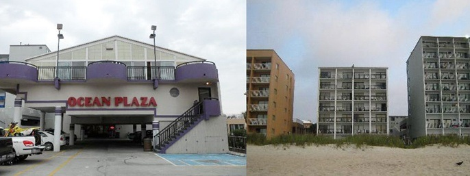 Ocean Plaza Motel in Myrtle Beach SC