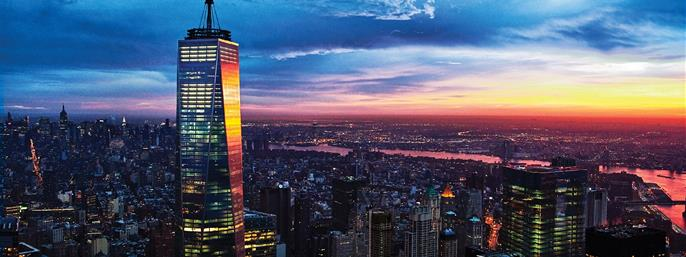 One World Observatory in New York NY