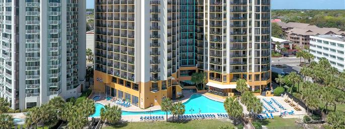 Patricia Grand Resort Hotel in Myrtle Beach SC