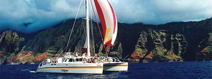 Capt. Andy's Poipu Sunset Sail in Koloa, Kauai HI