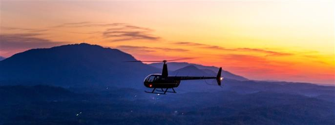 Scenic Helicopter Tours in Sevierville TN