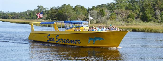 Sea Screamer- Myrtle Beach Dolphin Cruises in Little River SC