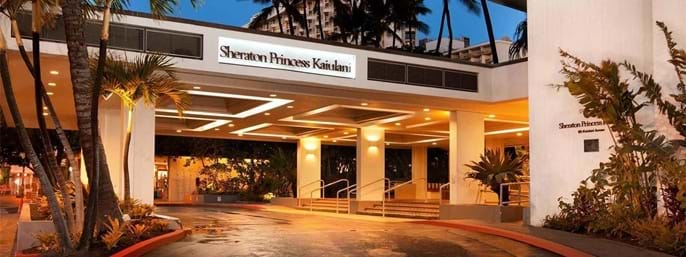 Sheraton Princess Kaiulani in Honolulu HI