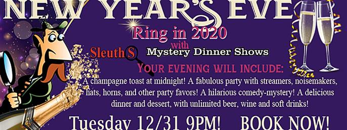 Sleuths New Year's Eve Party in Orlando FL