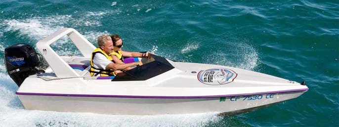 Tampa Bay / St. Petersburg Speed Boat Adventure Tour