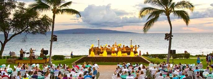 Te Au Moana Luau at the Wailea Beach Marriott Resort & Spa in Wailea, Maui HI