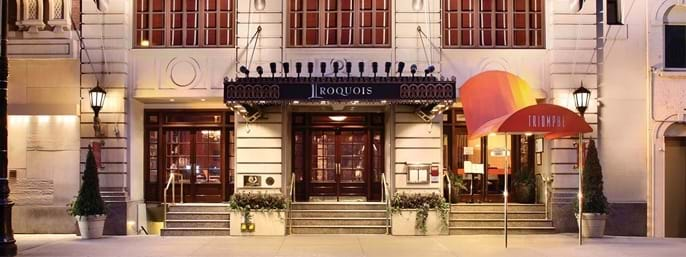 The Iroquois New York in New York City NY