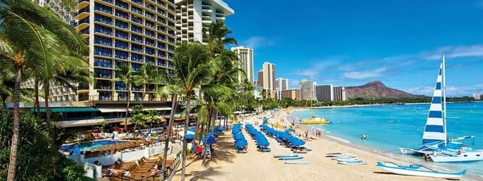 The Outrigger Waikiki on the Beach in Honolulu HI