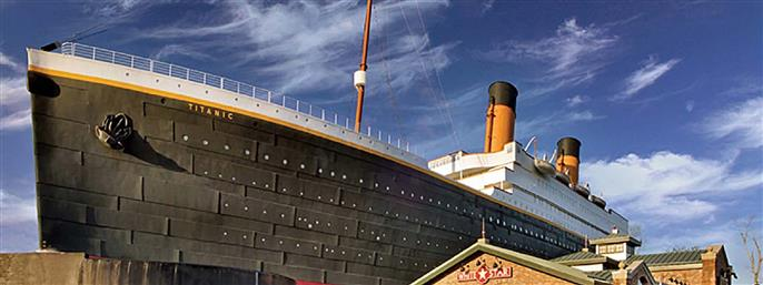 Titanic Museum Attraction in Pigeon Forge TN