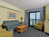 Living Room - Caribbean Resort & Villas in Myrtle Beach, South Carolina
