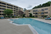 Outdoor Pool - DoubleTree by Hilton Williamsburg in Williamsburg, VA