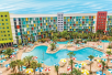 Aerial View - Universal's Cabana Bay Beach Resort in Orlando, FL
