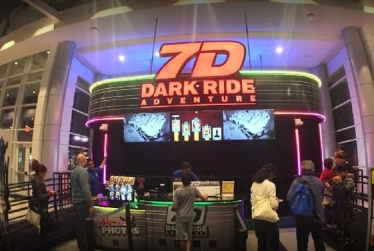 7D Dark Ride Adventure in Branson, MO