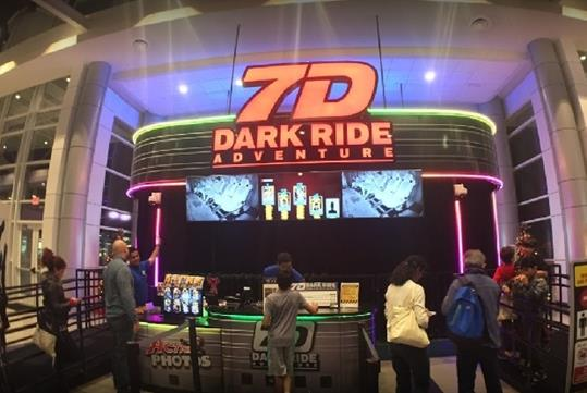 7D Dark Ride Adventure in Gatlinburg, TN