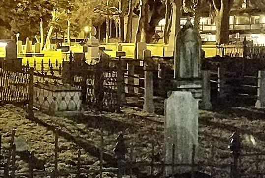 Cemetery Ghost - A Ghostly Experience in St. Augustine, FL