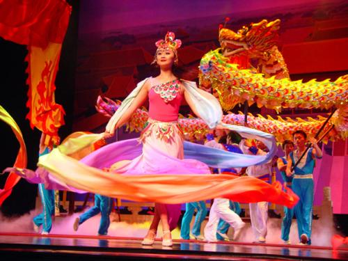 Acrobats of Chinda featuring the New Shanghai Circus in Branson, Missouri