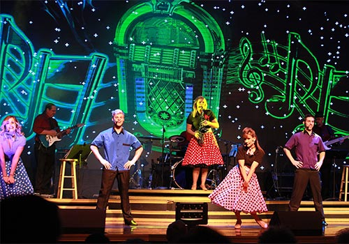America's Hit Parade at the Grand Majestic Theater in Pigeon Forge, Tennessee