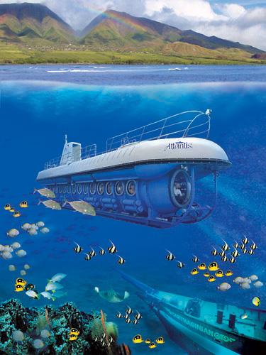 Atlantis Adventures Submarine Tours Maui | Maui Submarine Tours