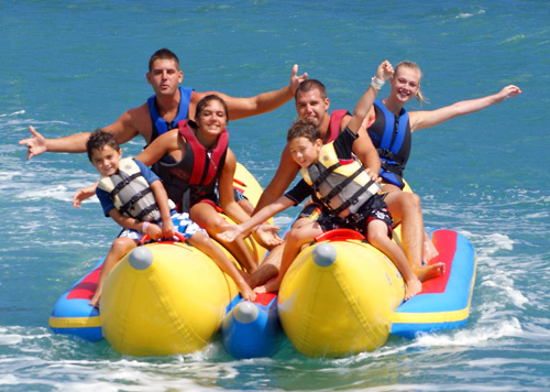 Banana Boat Ride - SeaBreeze Watersports in Honolulu, Hawaii