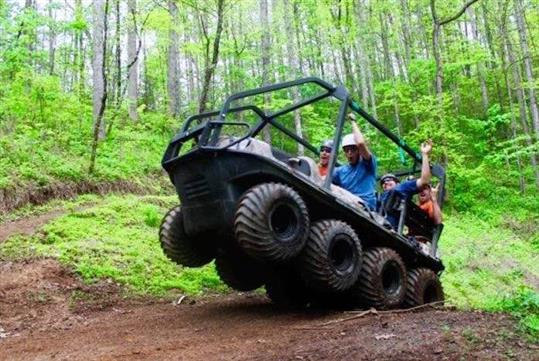 Bear Crawler ATV Adventure at Foxfire Mountain Adventure Park in Sevierville, Tennessee