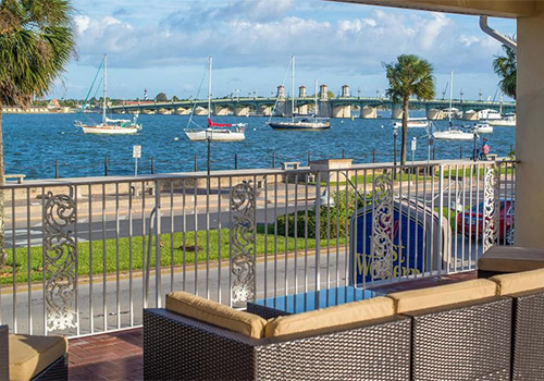Bayview Patio - Best Western Bayfront in St Augustine, Florida
