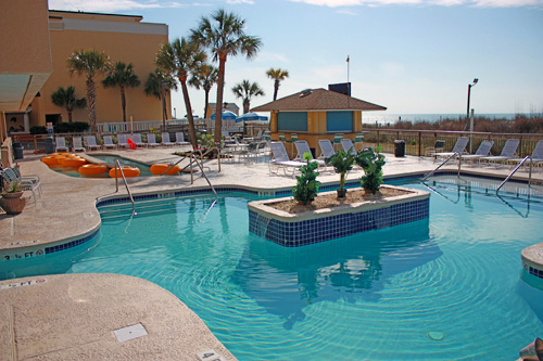 Best Western Ocean Sands Beach Resort In North Myrtle South Carolina