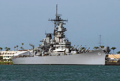 Visit Battleship Missouri Memorial.