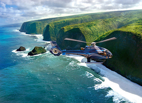 Touring the breathtaking Kohala Coast in a state-of-the-art Blue Hawaiian Eco-Star.
