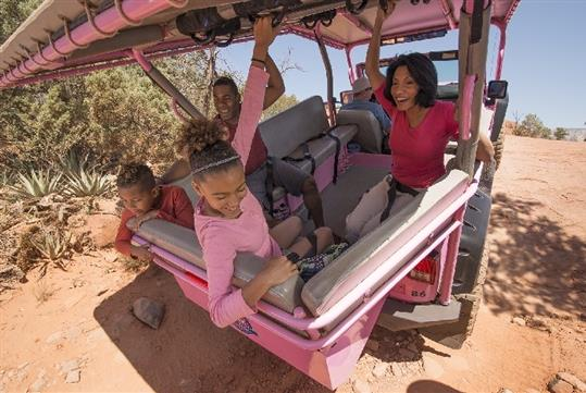 Broken Arrow Pink Jeep Tour in Sedona, AZ