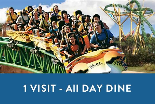 Busch Gardens Tampa   One Visit With All Day Dine