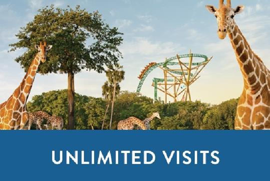 Unlimited Visits + Free Parking