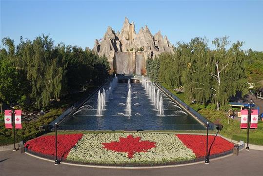 Canada's Wonderland in Vaughn, ON