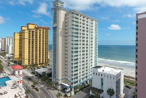 Oceanfront at Carolinian Beach Resort - Myrtle Beach, SC