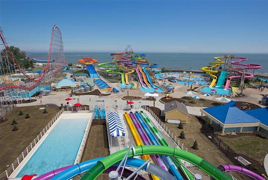 Cedar Point Shores Waterpark in Sandusky, OH