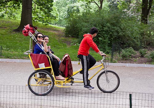 Central Park Pedicab Tours in New York, New York