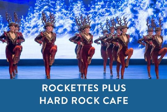 Rockettes Christmas Spectacular.Christmas Spectacular With The Radio City Rockettes Plus Times Square Lunch Or Dinner