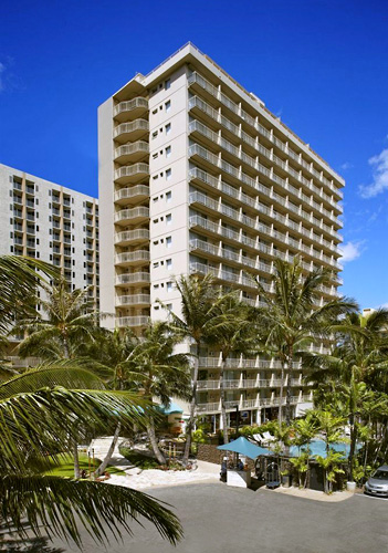 Courtyard Waikiki Beach Parking