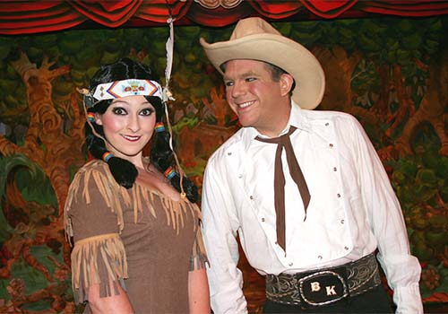 Cowboy! The Life & Times of Billy Kinkaid at Sweet Fanny Adams Theatre in Gatlinburg, Tennessee