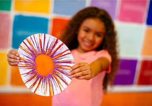 Create your own work of art with crayons at Crayola Experience!
