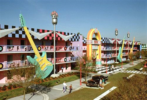 Disney's All-Star Music Resort in Lake Buena Vista, Florida