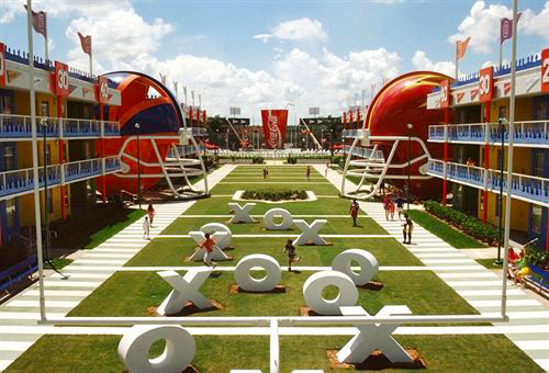 Disney's All-Star Sports Resort in Lake Buena Vista, Florida