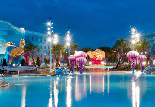 Disney's Art of Animation Resort in Lake Buena Vista, Florida