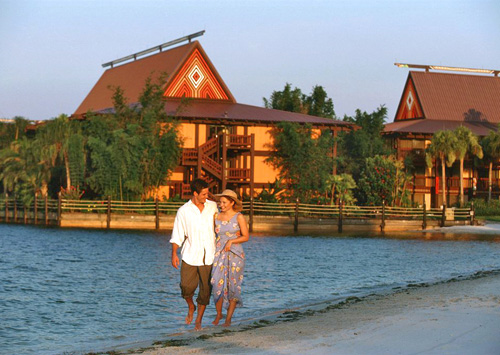 Disney's Polynesian Resort in Lake Buena Vista, Florida