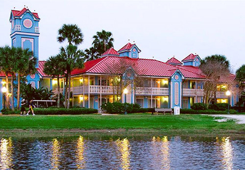 Disney S Caribbean Beach Resort In Lake Buena Vista Florida