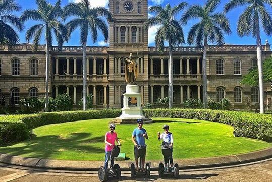 There are plenty of photo ops on our small, intimate tours.Downtown Historical Segway Tour in Waikiki Segway