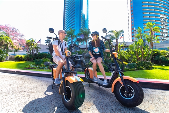 Electric Scooter Tour San Diego