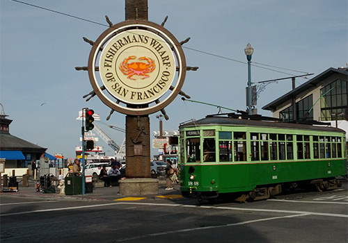 Fisherman's Wharf Walking Tour in San Franscisco, California
