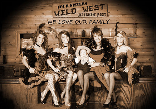 Meet our loving family owned business of three sisters, grand baby and mom.